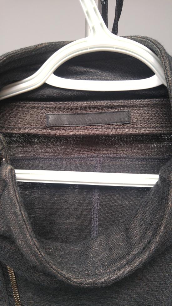 Julius FW12 Cupra/Wool Draped Jacket (sz 2, fits 48) Size US M / EU 48-50 / 2 - 3