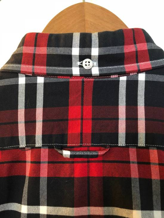 Thom Browne Red/Navy/White Plaid Shirt Size US M / EU 48-50 / 2 - 3
