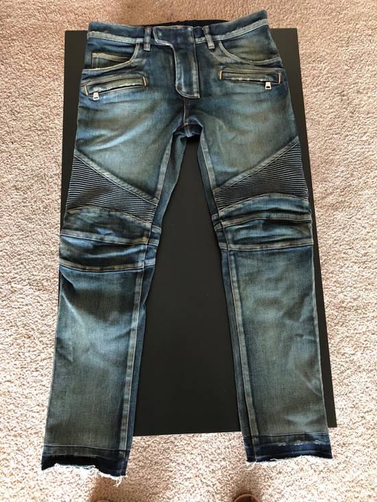 Balmain Balmain Straight Biker Jeans Size US 30 / EU 46