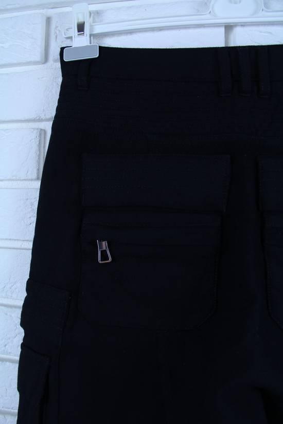 Balmain Cargo Biker Wool Pants Size US 29 - 3