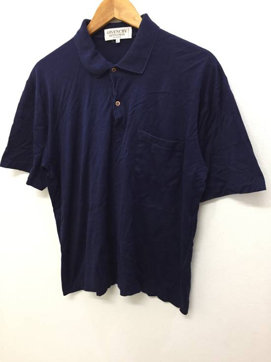 Givenchy 80's GIVENCHY embroidered logo pocket polo t shirt Size US S / EU 44-46 / 1 - 1