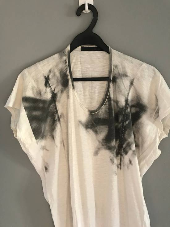 Julius SS12 long tee spray painted t shirt Size US S / EU 44-46 / 1 - 1