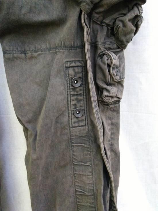 Julius Green Denim Gas Mask Cargo Pants s/s 13 Size US 29 - 4
