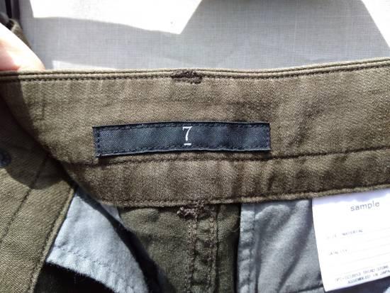 Julius Green Linen Blend Gas Mask Cargo Pants Size US 30 / EU 46 - 7