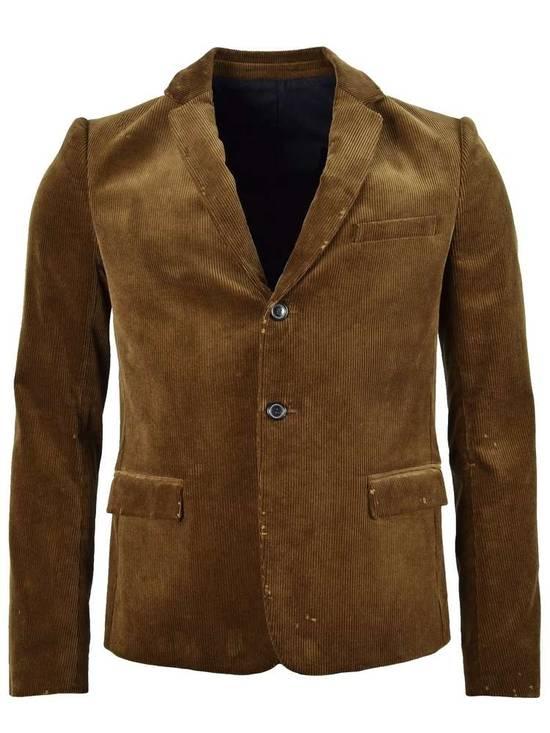 Balmain FW11 Distressed Corduroy Blazer Size 36R