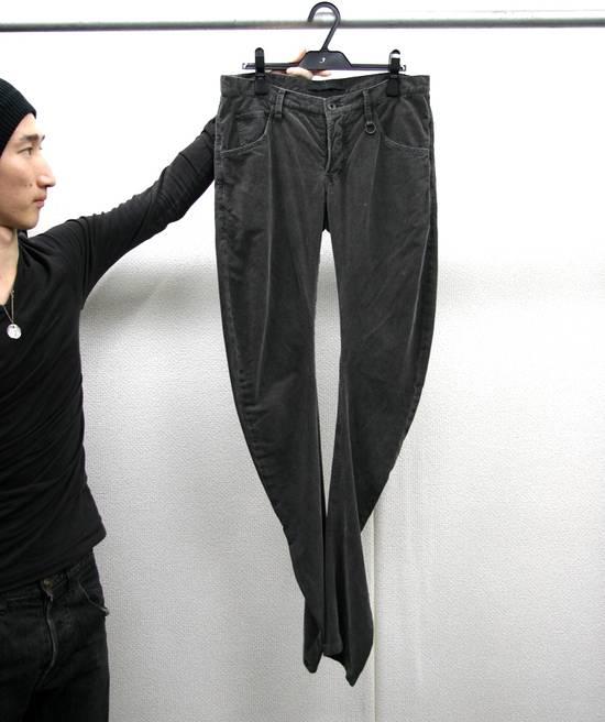 Julius FW07 Spiral Leg Corded Denim Size US 30 / EU 46 - 11