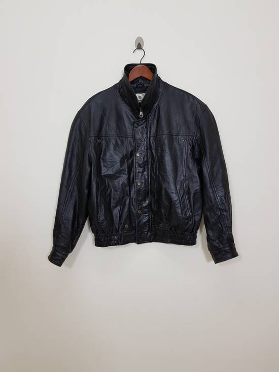 Balmain Authentic Pierre Balmain Riding Bomber Leather Jacket Size US L / EU 52-54 / 3 - 5