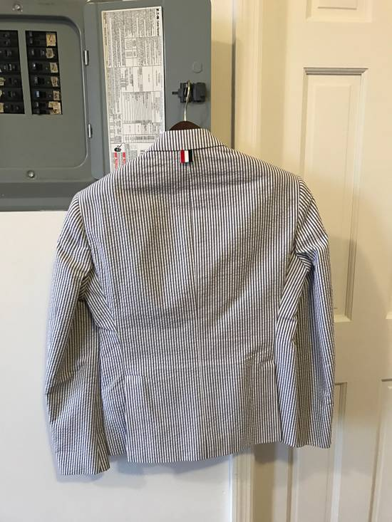 Thom Browne Classic Seersucker Suit Size 36S - 1