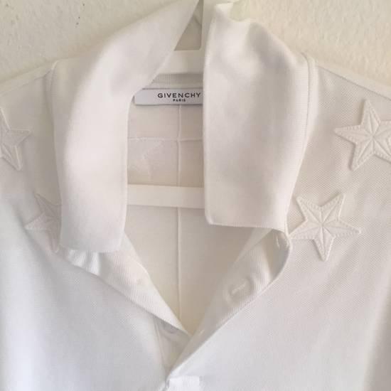 Givenchy GIVENCHY POLO-SHIRT STARS 74 WHITE Size US XL / EU 56 / 4 - 1