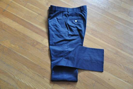 Thom Browne Navy Unstructured Chino Size US 31 - 2