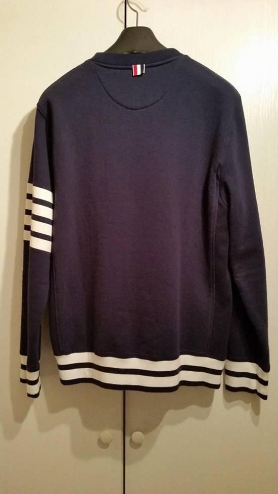 Thom Browne Navy crewneck sweatshirt Size US M / EU 48-50 / 2 - 4