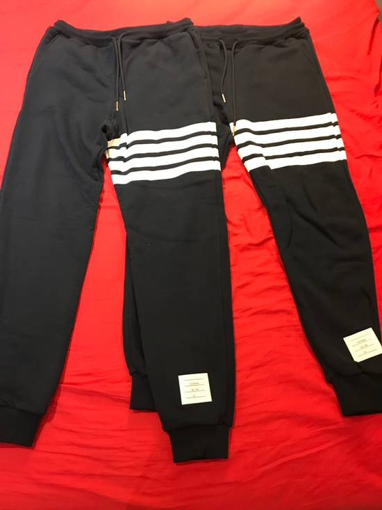 Thom Browne 4-Bar Print Sweatpants Size US 30 / EU 46