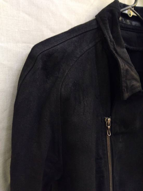Julius Black Denim Moto Jacket f/w10 Size US L / EU 52-54 / 3 - 9