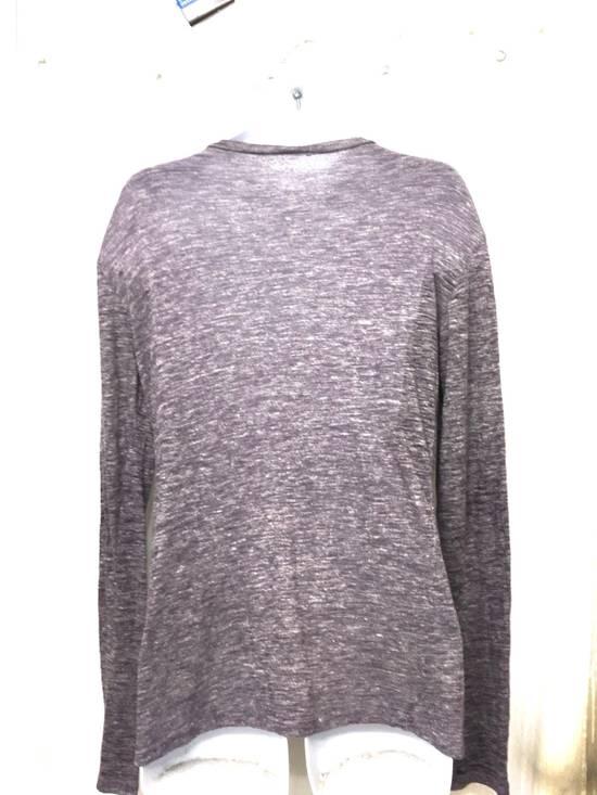 Balmain Balmain Paris Lavender Crewneck Linen Long Sleeve Shirt Size US L / EU 52-54 / 3 - 4