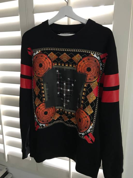 Givenchy Givenchy 17 Stars Diamonds And Stripe Swearshirt Size US S / EU 44-46 / 1 - 3