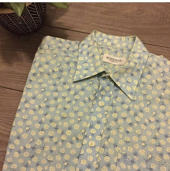 Givenchy Vintage Givenchy Floral Button Up Size US L / EU 52-54 / 3