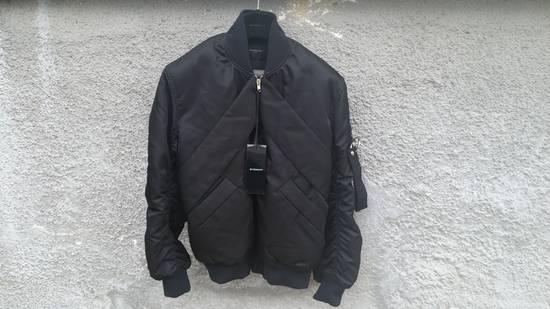 Givenchy Givenchy Black Banded Rottweiler Nylon Shell Bomber Jacket 2014 size 48 (M) Size US M / EU 48-50 / 2