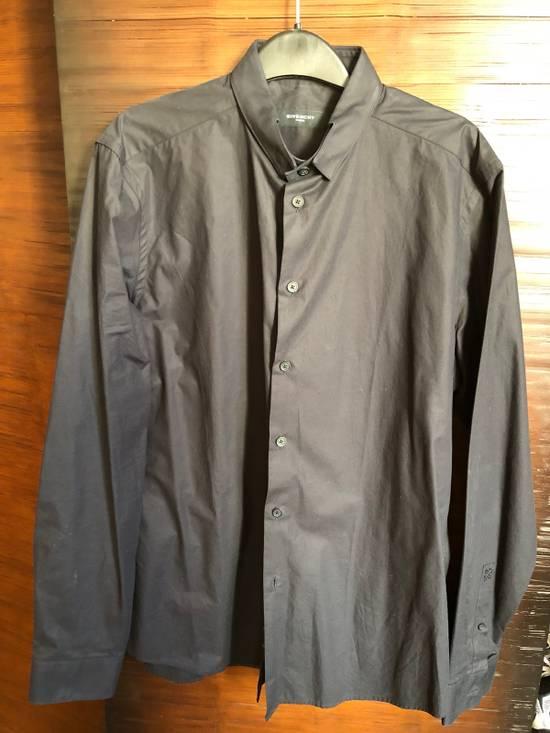 Givenchy Givenchy button down Riccardo tisci Black Slim Collar Size US M / EU 48-50 / 2 - 1