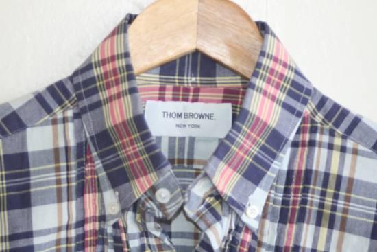 Thom Browne Thom Browne Madras Shirt Size US S / EU 44-46 / 1 - 2