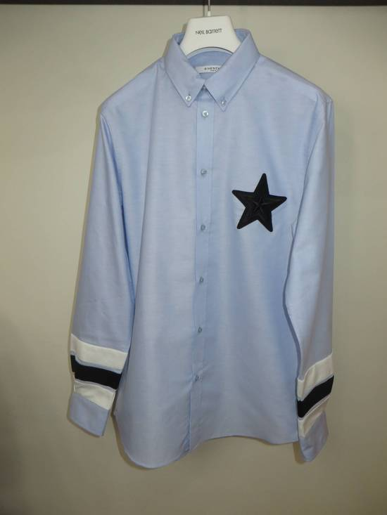 Givenchy Embroidered star applique shirt Size US L / EU 52-54 / 3