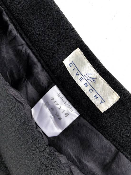 Givenchy Givency Life Black Formal Wool Trousers Pants Size US 27 - 5