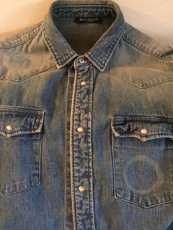Balmain Denim balmain Shirt Size US XS / EU 42 / 0