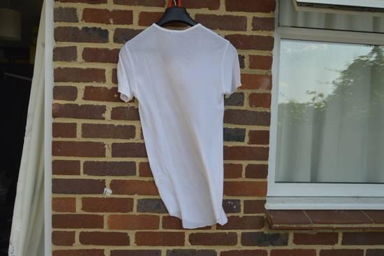 Balmain White Ribbed T-shirt Size US M / EU 48-50 / 2 - 10