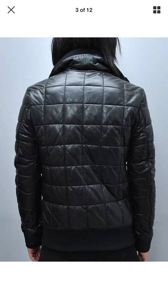 Balmain Balmain Homme Rare Leather Puffer List $6590 Size US S / EU 44-46 / 1 - 9