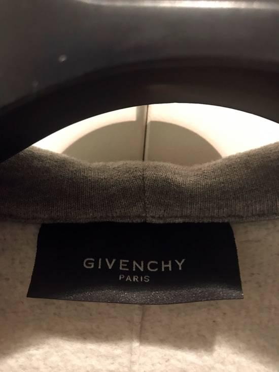 Givenchy Grey / Black Neoprene Layered Coat Size US M / EU 48-50 / 2 - 2