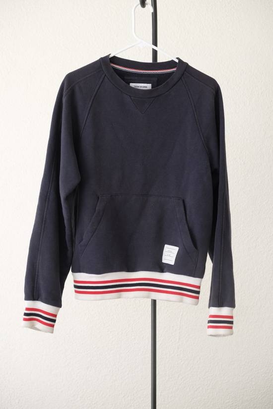 Thom Browne Kangaroo Pocket Sweatshirt - Made in Canada Size US M / EU 48-50 / 2