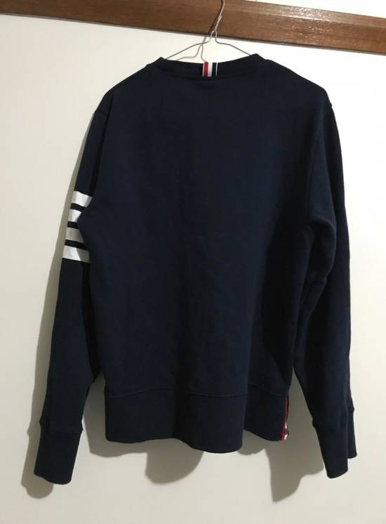 Thom Browne Navy Classic Sweatshirt Size US M / EU 48-50 / 2 - 1
