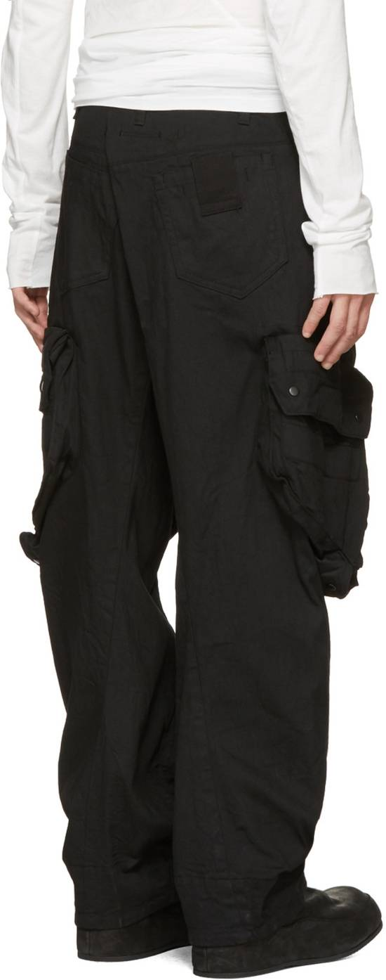 Julius NO MORE DROP, Black Gas Mask Cargo Pants SIZE 3 Size US 33 - 1