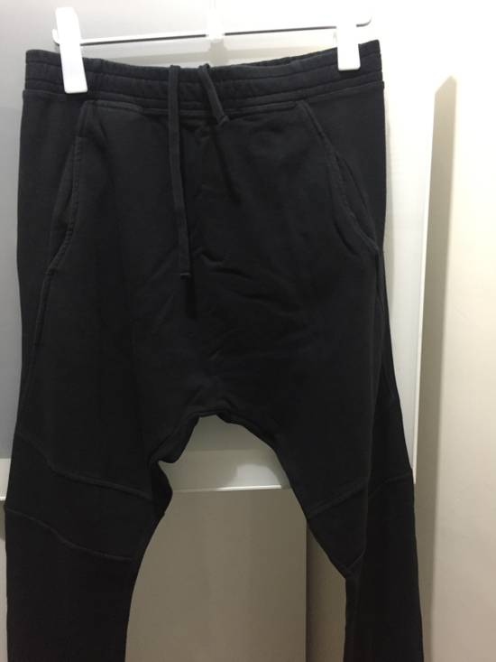Balmain Drop Crotch Biker Sweatpants Size US 30 / EU 46 - 2
