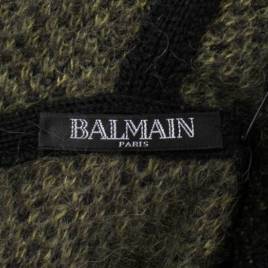 Balmain Camouflage Wool Blend Zip Up Hoodie Size S Size US S / EU 44-46 / 1 - 8