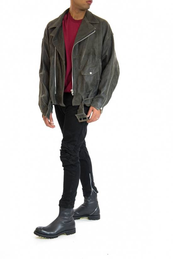 Julius Julius _ 7 oversized Biker Leather Jacket Size US L / EU 52-54 / 3 - 9