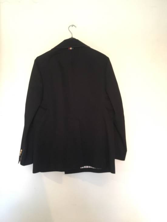 Thom Browne TB Navy Deconstructed Peacoat Size US M / EU 48-50 / 2 - 4