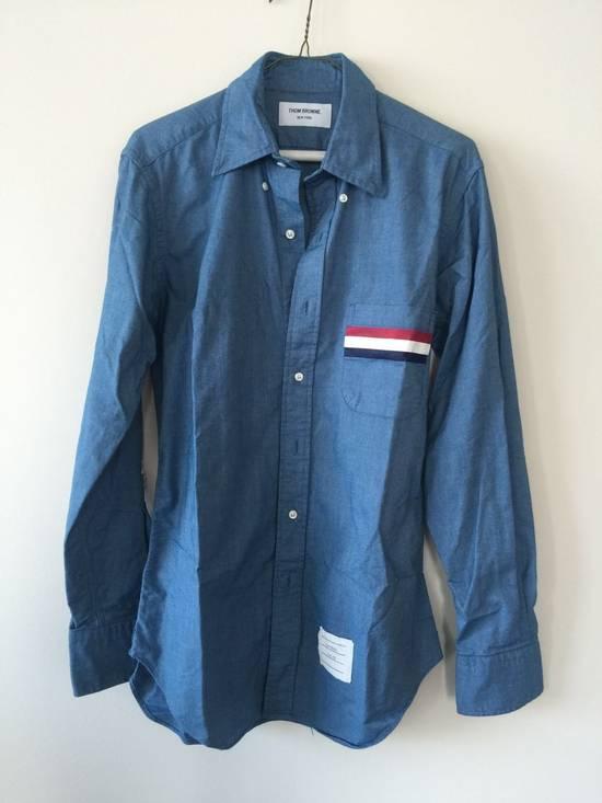 Thom Browne Thom browne TB shirt blue Size US M / EU 48-50 / 2