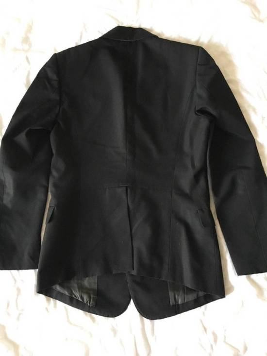 Julius Rare Japan made black fine wool tailored jacket in excellent condition Size 38R - 11