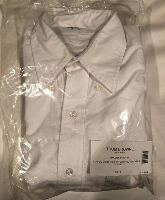 Thom Browne Brand New Thom Browne Classic Detailed Botton Up Size 38S - 2