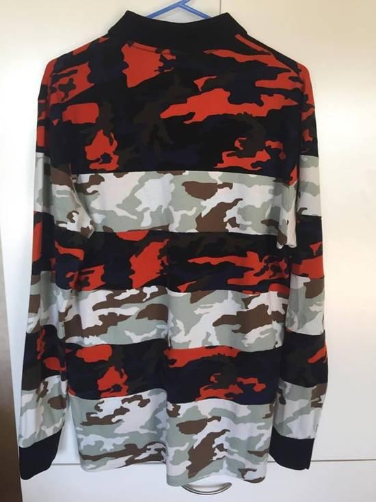 Givenchy Camo Long Sleeve Polo Size US S / EU 44-46 / 1 - 1