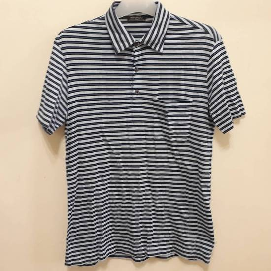 Givenchy Givenchy Paris Polo Shirt Striped Single Pocket Stretchable Fabric Luxury Top Designer Made in Italy Size US M / EU 48-50 / 2 - 1