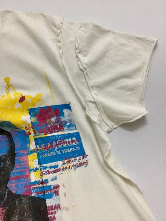 """Julius RaRE PiECeS!!!!! 2003 Spring And Summer Collection """" For Tomorrow"""" Printed Art Distressed T-Shirt Size US L / EU 52-54 / 3 - 4"""