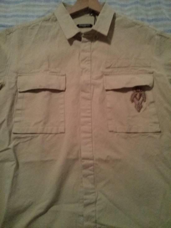 Balmain s/s shirt beige khaki size 50 Size US M / EU 48-50 / 2