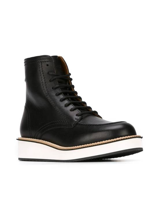 Givenchy Rottweiler Philippo Leather Ankle Boots Size US 7.5 / EU 40-41 - 3