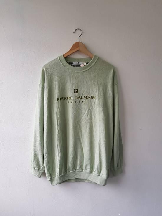 Balmain Japan Pierre Balmain Paris Embroidered Jumper Sweater Shirt Size US L / EU 52-54 / 3 - 6