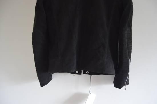 Balmain 1 of 1 Black Suede Biker Size US M / EU 48-50 / 2 - 7