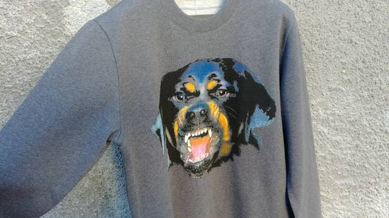 Givenchy Givenchy Grey Rottweiler Print Shark Bambi Star Men's Sweater size M (relaxed) Size US M / EU 48-50 / 2 - 2
