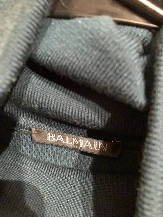 Balmain Side Zip Turtle Neck Size US XL / EU 56 / 4 - 1