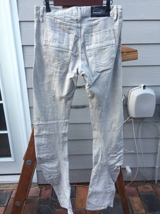 Julius SS09 Distressed J Cut Plaster Denim Size US 30 / EU 46 - 7