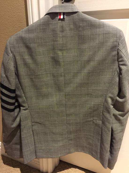 Thom Browne Rare Black Arm Stripe Blazer Size 38R - 1
